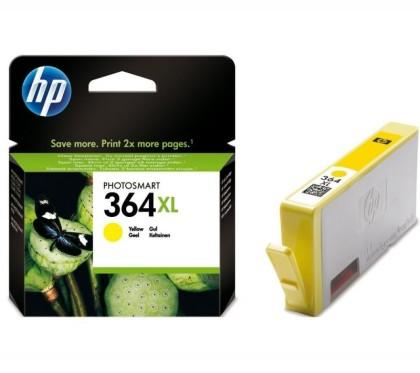 Originálna cartridge HP č. 364Y XL (CB325EE) (Žltá)
