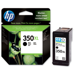 Cartridge do tiskárny Originálna cartridge HP č. 350 XL (CB336EE) (Čierna)