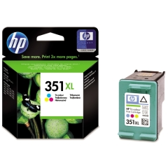 Cartridge do tiskárny Originálna cartridge HP č. 351 XL C (CB338EE) (Farebná)