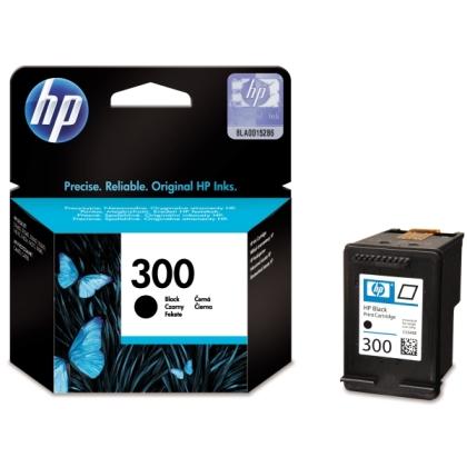 Originálna cartridge HP č. 300 BK (CC640EE) (Čierna)
