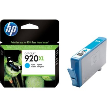 Originálna cartridge HP č. 920C XL (CD972AE) (Azúrová)