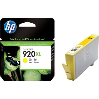 Originálna cartridge HP č. 920Y XL (CD974AE) (Žltá)