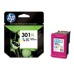 Cartridge do tiskárny Originálna cartridge HP č. 301 C XL (CH564EE) (Farebná)