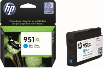 Originálna cartridge HP č. 951C XL (CN046A) (Azúrová)
