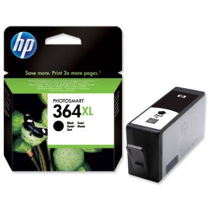 Originálna cartridge HP č. 364BK XL (CN684EE) (Čierna)