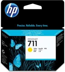 Cartridge do tiskárny Originálna cartridge HP č. 711 (CZ132A) (Žltá)
