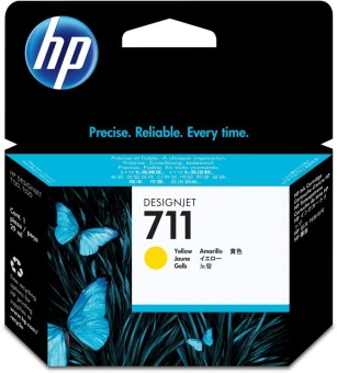 Originálna cartridge HP č. 711 (CZ132A) (Žltá)