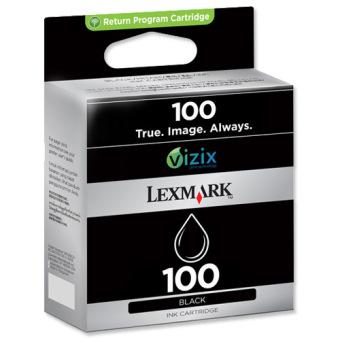 Originálna cartridge  Lexmark 100BK (14N0820E) (Čierna)