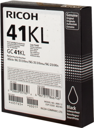 Originálna cartridge Ricoh 405765 (Čierná)