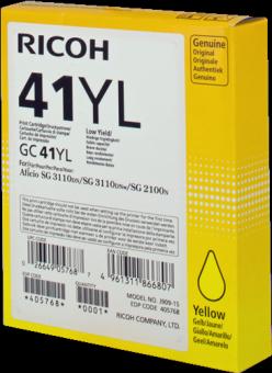 Originálna cartridge Ricoh 405768 (Žltá)