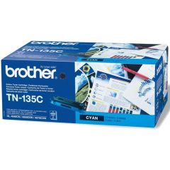 Toner do tiskárny Originálny toner Brother TN-135 Azúrový