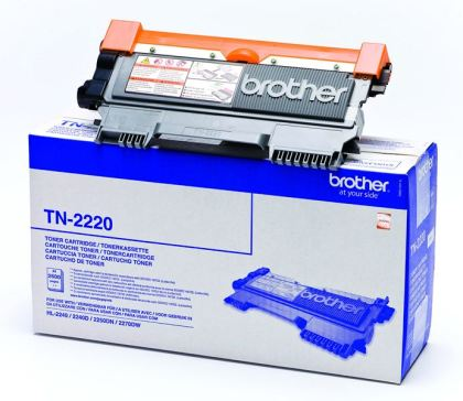 Originálny toner Brother TN-2220 Čierny