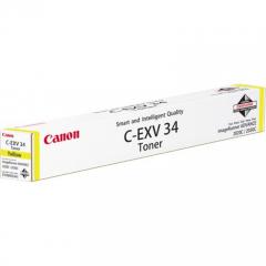 Toner do tiskárny Originálny toner CANON EXV-34 Y (Žltý)