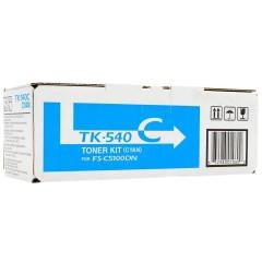 Toner do tiskárny Originálny toner KYOCERA TK-540C (Azúrový)