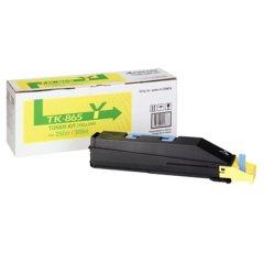 Toner do tiskárny Originálny toner KYOCERA TK-865Y (Žltý)