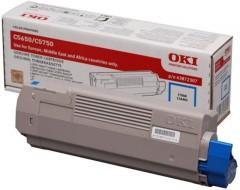 Toner do tiskárny Originálny toner OKI 43872307 (Azúrový)