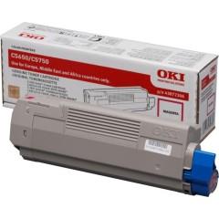Toner do tiskárny Originálny toner OKI 43872306 (Purpurový)