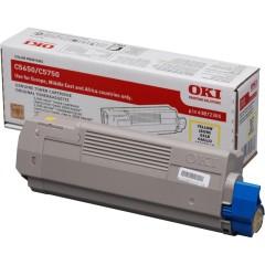 Toner do tiskárny Originálny toner OKI 43872305 (Žltý)