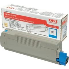 Toner do tiskárny Originálny toner OKI 43324423 (Azúrový)