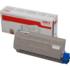 Toner do tiskárny Originálny toner OKI 44318607 (Azúrový)