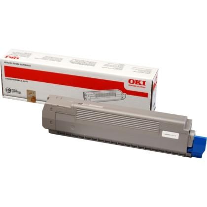 Originálny toner OKI 44643004 (Čierny)