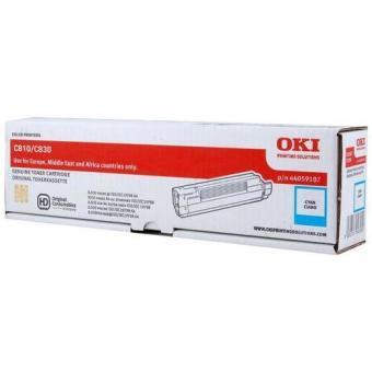 Originálny toner OKI 44059107 (Azúrový)
