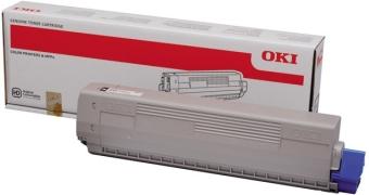 Originálny toner OKI 44844615 (Azúrový)