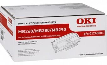 Originálny toner OKI 01240001 (Čierny)