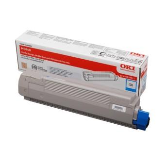 Originálny toner OKI 44059211 (Azúrový)