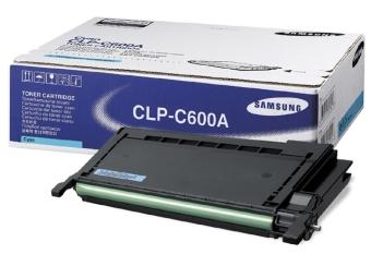 Originálny toner SAMSUNG CLP-C600A (Azúrový)