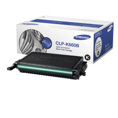 Toner do tiskárny Originálny toner SAMSUNG CLP-K660B (Čierny)