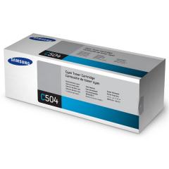 Toner do tiskárny Originálny toner Samsung CLT-C504S (Azúrový)