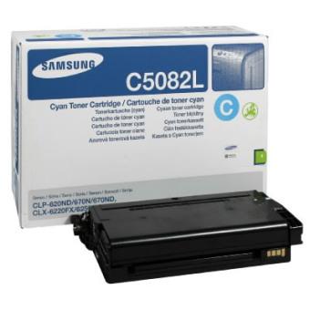 Originálny toner Samsung CLT-C5082L (Azúrový)