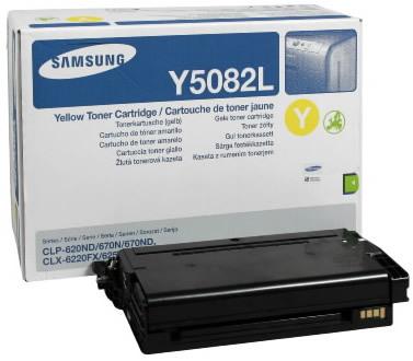 Originálny toner Samsung CLT-Y5082L (Žltý)