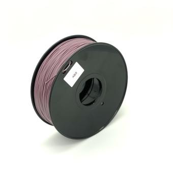 Tlačová struna ABS pre 3D tlačiarne, 1,75mm, 1kg, meniace farbu podľa teploty z fialovej na ružovú