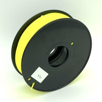 Tlačová struna PLA pre 3D tlačiarne, 3mm, 1kg, žltá