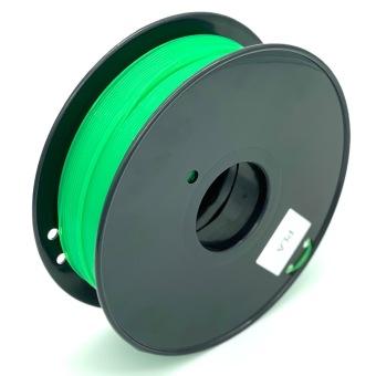 Tlačová struna PLA pre 3D tlačiarne, 1,75mm, 1kg, transparentne zelená