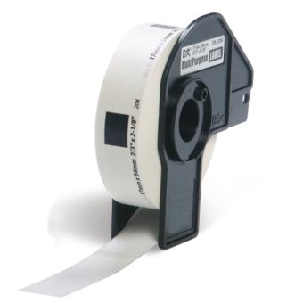 Kompatibilné etikety s Brother DK-11204, papierové biele, univ. štítok, 17 x 54mm, 400ks