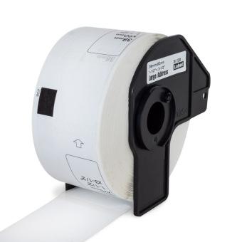 Kompatibilné etikety s Brother DK-11208, papierové biele, široké adresy, 38 x 90mm, 400ks