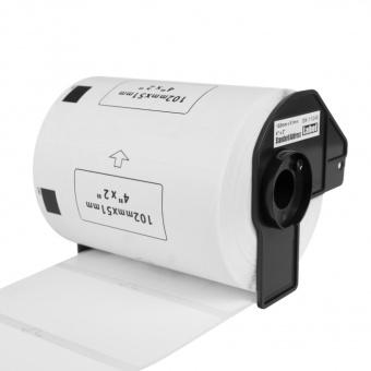 Kompatibilné etikety s Brother DK-11240, papierové štítky, 102 x 51mm, 600ks