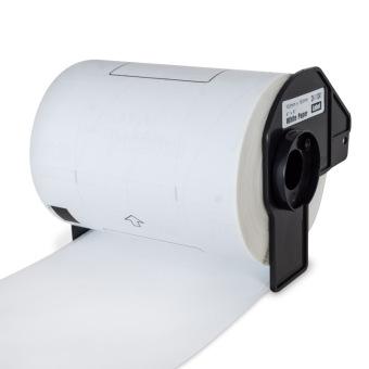 Kompatibilné etikety s Brother DK-11241, biele, veľké poštové štítky, 102 x 152mm, 200ks