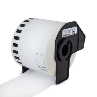 Kompatibilné etikety s Brother DK-22205, papierová rola 62mm x 30,48m