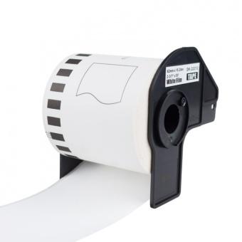 Kompatibilné etikety s Brother DK-22212, filmová rola, 62mm x 15,24m