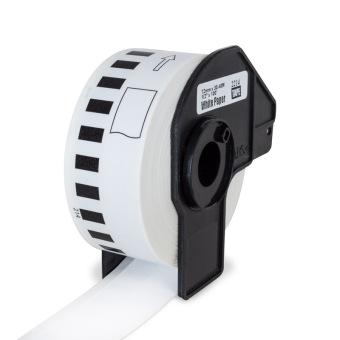 Kompatibilné etikety s Brother DK-22214, papierová rola 12mm x 30,48m