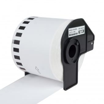 Kompatibilné etikety s Brother DK-44205, papierová rola s odstrániteľným lepidlom, 62mm x 30,48m