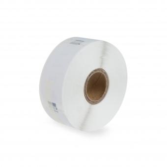 Kompatibilné etikety s DYMO 11355 (S0722550), 51mm x 19mm, čierna tlač na bielom podklade, 500ks
