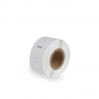 Kompatibilné etikety s DYMO 99010 (S0722370), 89mm x 28mm, čierna tlač na bielom podklade, 130ks