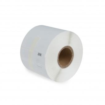 Kompatibilné etikety s DYMO 99014 (S0722430), 101mm x 54mm, čierna tlač na bielom podklade, 220ks