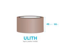 Lepiaca páska, hnedá - ULITH - 48mm x 66m