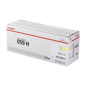 Originálny toner CANON CRG-059H Y (Žltý)
